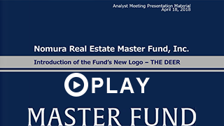 THE DEER – New Brand Concept|NOMURA REAL ESTATE MASTER FUND
